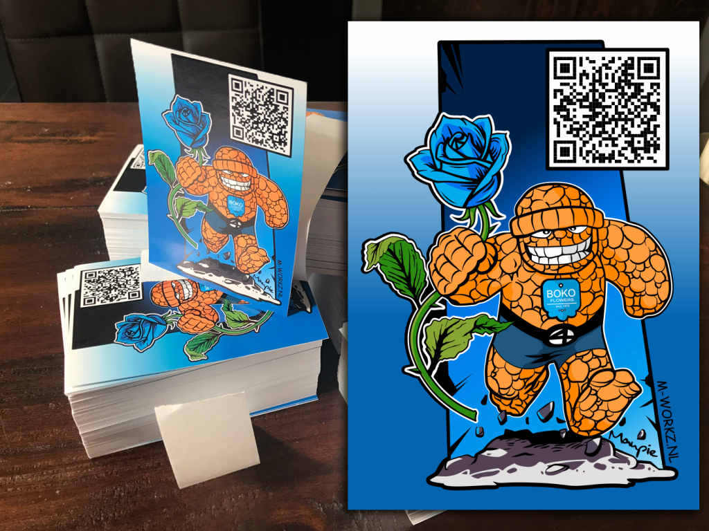 M-Workz_Design_Portfolio_Sticker_Boko_Flowers_Schiedam